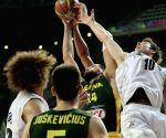 New Zealand v/s Lithuania FIBA Basketball World Cup Spain 2014