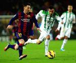 Barcelona (Spain): La Liga -  FC Barcelona vs Cordoba CF