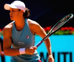 Barty cruises into Madrid Open final