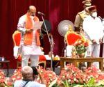 Basavaraj Bommai sworn-in as 30th Chief Minister of Karnataka