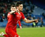 SWITZERLAND-BASEL-UEFA EURO 2020 QUALIFIER-GROUP D-SWITZERLAND VS DENMARK