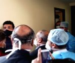 Free Photo: BCCI president Sourav Ganguly arrived at private hospital