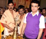 Sourav Ganguly at Silver jubilee celebrations of Sree Guruvayurappan Temple