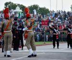 Beating Retreat ceremony at Indo-Pak border