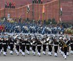President Kovind, PM Modi with Beating Retreat ceremony