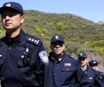 CHINA BEIJING ITALY GREAT WALL JOINT PATROL