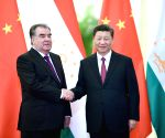 CHINA BEIJING XI JINPING TAJIK PRESIDENT MEETING
