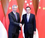 CHINA BEIJING LI KEQIANG SINGAPOREAN PM MEETING