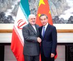 CHINA BEIJING WANG YI IRAN FM TALKS