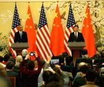 Beijing (China): Xi Jinping meets Barack Obama