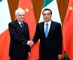 CHINA BEIJING LI KEQIANG ITALIAN PRESIDENT MEETING