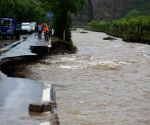 CHINA BEIJING CHANGPING FLASH FLOODS