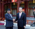 CHINA BEIJING WANG YANG NEPAL MEETING