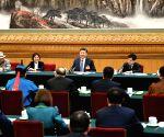 CHINA BEIJING XI JINPING NPC PANEL DISCUSSION