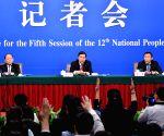 CHINA BEIJING NPC PRESS CONFERENCE ECONOMY