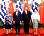 CHINA BEIJING XI JINPING GREEK PRESIDENT TALKS