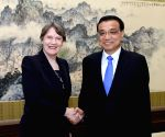 CHINA BEIJING LI KEQIANG UN GUESTS MEETING