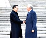 CHINA BEIJING LI KEQIANG NAJIB TALKS