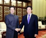 CHINA BEIJING LI ZHANSHU PAKISTANI PM MEETING