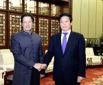 CHINA BEIJING LI ZHANSHU PAKISTANI PM MEETING