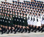 CHINA BEIJING NATIONAL DAY CELEBRATION TRAINING