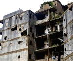 LEBANON BEIRUT DESTROYED BUILDINGS