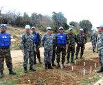 LEBANON CHINA CAMBODIA TROOPS COOPERATION MINE SWEEPING
