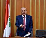 LEBANON BEIRUT PARLIAMENT NEW SPEAKER