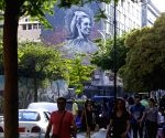 LEBANON BEIRUT GRAFFITI