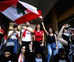 LEBANON BEIRUT PM ECONOMIC PLAN NATIONWIDE PROTEST