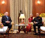 Belarus President Lukashenko meets President Kovind
