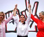 Belarus strike to go ahead, says oppn leader