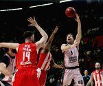 SERBIA BELGRADE BASKETBALL EUROCUP CRVENA ZVEZDA VS VALENCIA