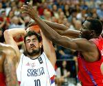SERBIA-BELGRADE-BASKETBALL-FIBA WORLD OLYMPIC QUALIFYING FINAL-SERBIA VS PUERTO RICO