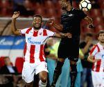 SERBIA BELGRADE SOCCER UEFA QUALIFICATION CRVENA ZVEZDA VS SPARTAKS