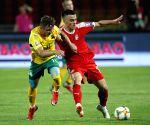 SERBIA-BELGRADE-SOCCER-UEFA EURO 2020 QUALIFYING MATCH-SERBIA VS LITHUANIA