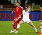 SERBIA-BELGRADE-FOOTBALL-UEFA-SERBIA VS MONTENERGRO
