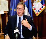 SERBIA BELGRADE PRESIDENT VUCIC INTERVIEW