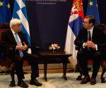 SERBIA BELGRADE GREECE PRESIDENT VISIT