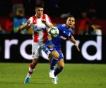 SERBIA-BELGRADE-FOOTBALL-CHAMPIONS LEAGUE-CRVENA ZVEZDA VS OLYMPIACOS