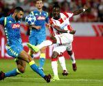 SERBIA BELGRADE UEFA CHAMPIONS LEAGUE CRVENA ZVEZDA NAPOLI