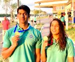 Belgrade swimming: Indians win 3 gold, all miss Olympic qualification