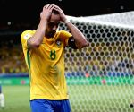 BRAZIL-BELO HORIZONTE-FOOTBALL-WORLD CUP 2018-QUALIFICATION-BRAZIL VS ARGENTINA