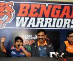 Bengal Warriors' press conference