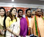Bengali actress Rimjhim Mitra joins BJP