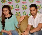 Soha Ali Khan and Kunal Kemmu during a programme