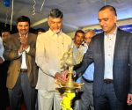 Andhra CM during a programme