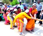 Shanta Kumari during inauguration of BBMP women councilors' sports meet