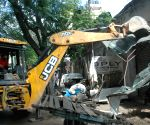 BBMP demolished illegal structures