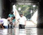 Waterlogged underpass